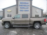 2014 Brownstone Metallic Chevrolet Silverado 1500 High Country Crew Cab 4x4 #90017499