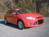 2012 Race Red Ford Focus SEL Sedan #90017440