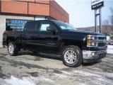 2014 Black Chevrolet Silverado 1500 LT Crew Cab 4x4 #90017108