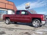 2014 Deep Ruby Metallic Chevrolet Silverado 1500 LTZ Z71 Double Cab 4x4 #90017107