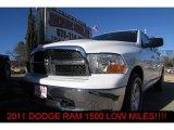 2011 Bright White Dodge Ram 1500 SLT Quad Cab #90017391