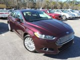 2013 Bordeaux Reserve Red Metallic Ford Fusion Hybrid SE #90017315