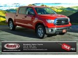 2013 Radiant Red Toyota Tundra CrewMax 4x4 #90051250