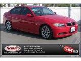 2007 Crimson Red BMW 3 Series 328i Sedan #90051334