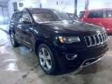 2014 Black Forest Green Pearl Jeep Grand Cherokee Overland 4x4 #90051447