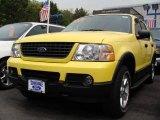 2003 Zinc Yellow Ford Explorer XLT 4x4 #8973784