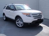 2014 White Platinum Ford Explorer XLT #90068312