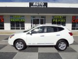2013 Pearl White Nissan Rogue SV #90068358
