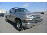 2003 Light Pewter Metallic Chevrolet Silverado 1500 Z71 Extended Cab 4x4 #90068411