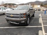 2014 Brownstone Metallic Chevrolet Silverado 1500 High Country Crew Cab 4x4 #90068134