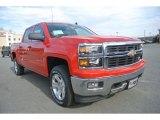 2014 Victory Red Chevrolet Silverado 1500 LT Z71 Crew Cab 4x4 #90068406