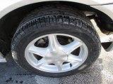 Oldsmobile Alero 2002 Wheels and Tires