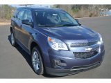 2014 Atlantis Blue Metallic Chevrolet Equinox LS #90068400