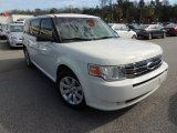 2009 Ford Flex White Suede Clearcoat