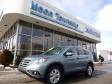 2012 Opal Sage Metallic Honda CR-V EX #90068288