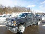 2014 Black Chevrolet Silverado 1500 LT Double Cab 4x4 #90068282
