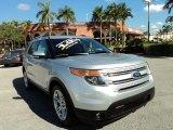 2013 Ingot Silver Metallic Ford Explorer Limited #90100262