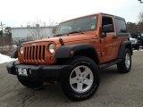 2011 Mango Tango Pearl Jeep Wrangler Sport S 4x4 #90100152