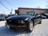 2006 Black Ford Mustang V6 Premium Convertible #90100487