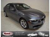 2014 Mineral Grey Metallic BMW 3 Series 328i Sedan #90100390