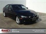 2014 Jet Black BMW 3 Series 320i Sedan #90100380