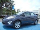 2013 Violet Gray Ford Fiesta Titanium Sedan #90100272