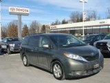 2012 Cypress Green Pearl Toyota Sienna LE #90100374