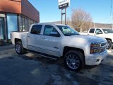 2014 White Diamond Tricoat Chevrolet Silverado 1500 High Country Crew Cab 4x4 #90124845