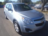 2014 Silver Topaz Metallic Chevrolet Equinox LS #90125492