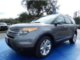 2014 Sterling Gray Ford Explorer Limited #90124943