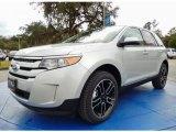 2014 Ingot Silver Ford Edge SEL #90124941
