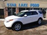 2014 White Platinum Ford Explorer Limited 4WD #90125380