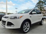2014 White Platinum Ford Escape Titanium 1.6L EcoBoost #90124935