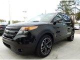 2014 Tuxedo Black Ford Explorer Sport 4WD #90124933