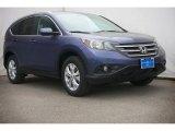 2014 Twilight Blue Metallic Honda CR-V EX-L #90125033