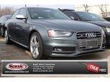 2014 Monsoon Gray Metallic Audi S4 Premium plus 3.0 TFSI quattro #90125155