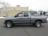 2005 Mineral Gray Metallic Dodge Ram 1500 SLT Quad Cab 4x4 #90125368