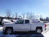 2014 Summit White Chevrolet Silverado 1500 LTZ Double Cab 4x4 #90125452
