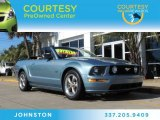 2006 Windveil Blue Metallic Ford Mustang GT Premium Convertible #90124902