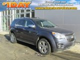 2014 Atlantis Blue Metallic Chevrolet Equinox LTZ AWD #90124799