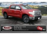 2014 Barcelona Red Metallic Toyota Tundra Limited Crewmax 4x4 #90124675