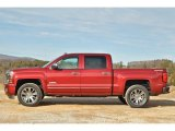 2014 Deep Ruby Metallic Chevrolet Silverado 1500 High Country Crew Cab 4x4 #90125325