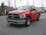 2012 Flame Red Dodge Ram 1500 ST Regular Cab #90124850