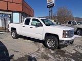 2014 Summit White Chevrolet Silverado 1500 LT Double Cab 4x4 #90124847