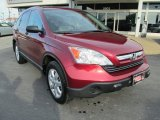 2009 Tango Red Pearl Honda CR-V EX 4WD #90125201