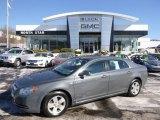 2008 Dark Gray Metallic Chevrolet Malibu Hybrid Sedan #90125090