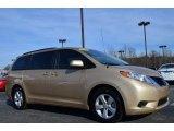 2011 Sandy Beach Metallic Toyota Sienna LE #90185659