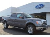 2014 Sterling Grey Ford F150 Lariat SuperCrew 4x4 #90185656