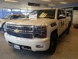 2014 White Diamond Tricoat Chevrolet Silverado 1500 High Country Crew Cab 4x4 #90185647