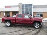 2014 Sonoma Red Metallic GMC Sierra 1500 SLE Crew Cab 4x4 #90185997